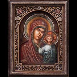 Icoane  Icoana Maica Domnului din Kazan cu Pruncul