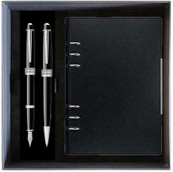 Seturi instrumente de scris Set Cross Bailey negru cu agenda