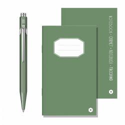 Seturi  Set Caran d'Ache pix si notebook Dark green