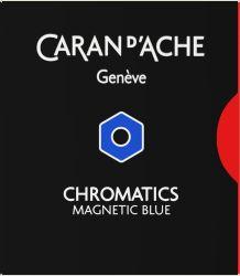 Instrumente de scris Set 6 cartuse Caran d'ache Magnetic Blue