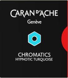 Instrumente de scris Set 6 cartuse Caran d'ache Hypnotic Turquoise