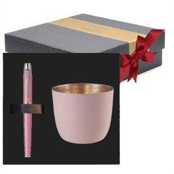 Craciun Stilou Parker roz in cutie cadou