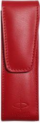 Instrumente de scris Etui Parker Duo Leather Ellite Red