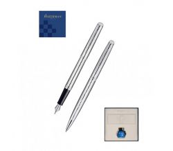Set Waterman pix si stilou Hemisphere Deluxe Metal