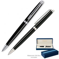 Instrumente de scris Set Waterman Hemisphere Deluxe Black CT