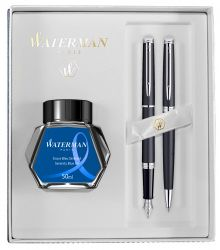 Set Waterman Hemisphere Deluxe Matt Black CT
