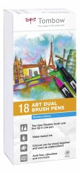 Set Tombow Creativ ABT Dual Brush 18 culori