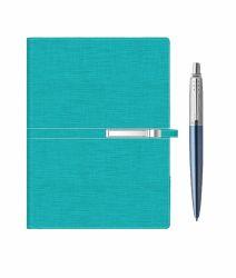 Seturi instrumente de scris Set agenda Trendy cu pix Parker Jotter Waterloo blue
