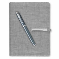 Seturi  Set stilou Parker IM Royal blue cu agenda A5 Trendy