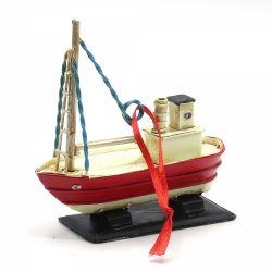 Ornament pentru bradul de Craciun rulota Ornament pentru bradul de Craciun corabie