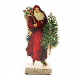 Figurina Mos Craciun Ornament pentru sarbatori Mos Craciun L