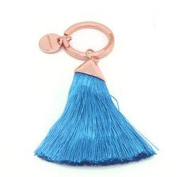 Breloc pentru chei Sneakers roz Breloc pentru chei ciucure albastru