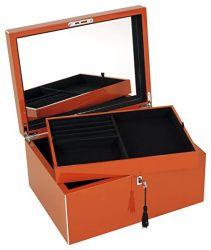 Bijuterii Cutie pentru bijuterii portocalie Neo Tang