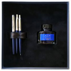 Cadouri Business Set Parker Jotter Royal Blue  stilou + pix si creion mecanic