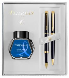 Set Waterman pix si stilou Hemisphere lac negru