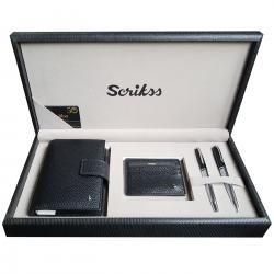 Seturi instrumente de scris Set Scrikss pix si stilou Pera organizer si portofel