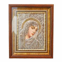 Nunta si Botez Icoana Fecioara Maria Indurerata argint Ag925