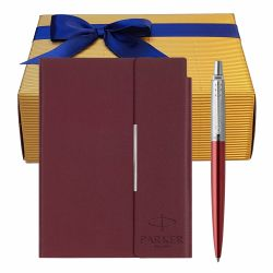 Instrumente de scris Set pix Parker Jotter Royal purple cu notes Velvet B6